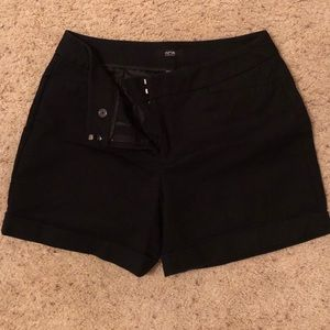 ❤️New Post❤️ Black dress shorts from Apartment 9
